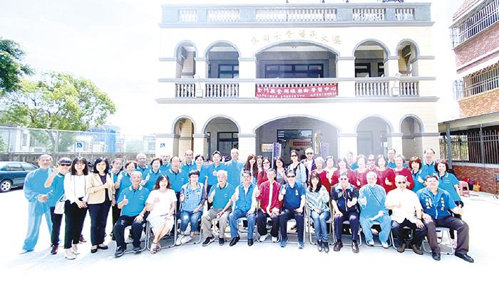連江縣政府教育處赴金湖鎮樂齡學習中心進行觀摩參訪。(金湖鎮公所提供)