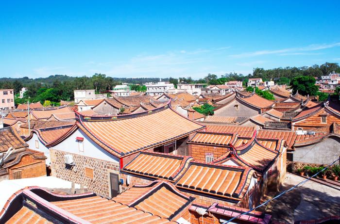 閩南聚落的特色建築。(金大提供)