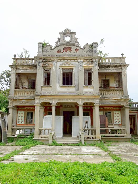 縣定古蹟王金城洋樓。(照片由金門縣文化局提供)